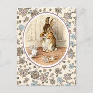 Vintage easter gifts on zazzle ca vintage bunny easter postcards negle Images