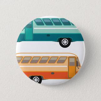 Vintage bus 2 inch round button