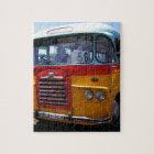 Vintage bus jigsaw puzzle