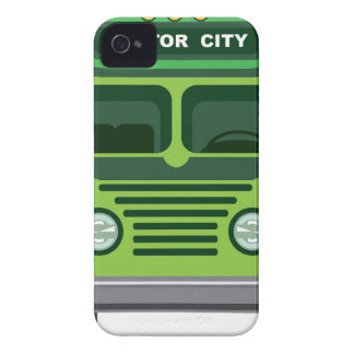 Vintage bus vector iPhone 4 cases