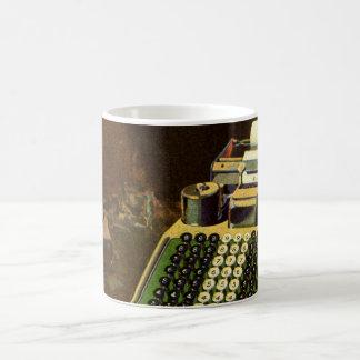 Vintage Business Accountant, Accounting Machine Coffee Mug