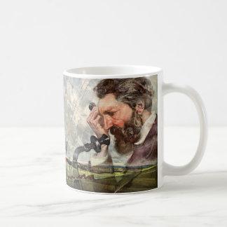 Vintage Business, Alexander Graham Bell Telephone Coffee Mug