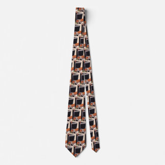 Vintage Business, Art Deco Fabrics and Textiles Tie