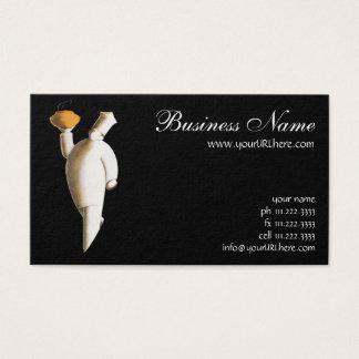 Vintage Business, Art Deco Restaurant Chef Business Card