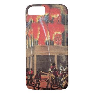Vintage Business Firemen, Fire Fighters Fireman iPhone 7 Case