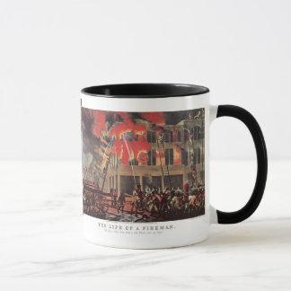 Vintage Business Firemen, Fire Fighters Fireman Mug