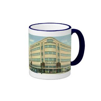 Vintage Business, Knapp's Department Store Ringer Coffee Mug