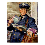 Vintage Business, Mailman Mail Delivering Letters