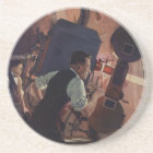 Vintage Business, Movie Theatre Projectionist Coaster