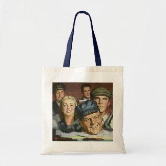 Vintage Business Occupations, Patriotic Patriotism Bags
