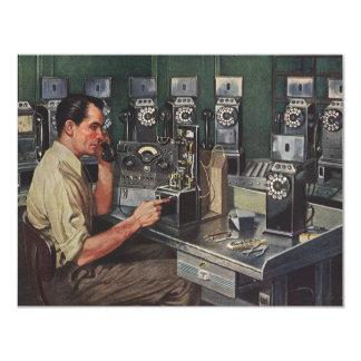 Vintage Business, Pay Phone Telephone Repairman Card