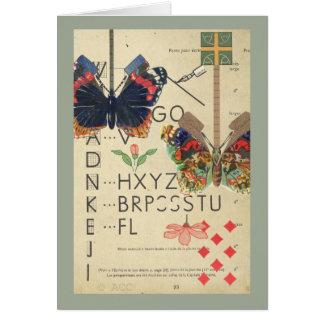 Vintage Butterflies Card