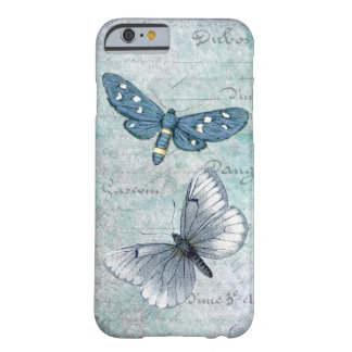 Vintage Butterflies French Grunge Barely There iPhone 6 Case