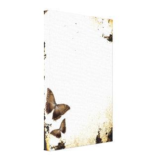 Vintage Butterflies Gallery Wrap Canvas
