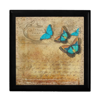 Vintage Butterflies Gift Box