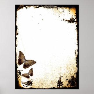 Vintage Butterflies Posters
