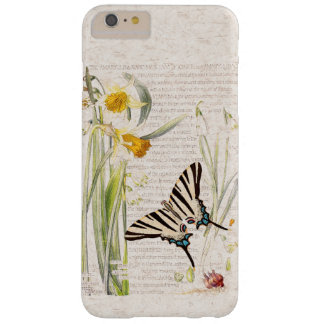 Vintage Butterfly Narcissus Flowers iPhone 6 Case