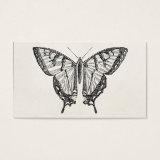 Vintage Butterfly Personalized Butterflies Insects Business Card