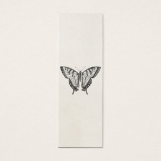 Vintage Butterfly Personalized Butterflies Insects Mini Business Card