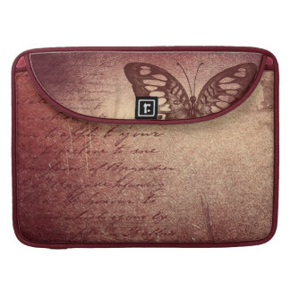 Vintage Butterfly Sleeve For MacBooks