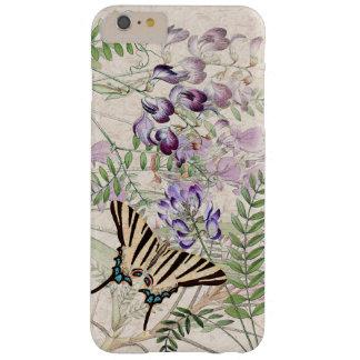 Vintage Butterfly Wildflower Flowers iPhone 6 Case
