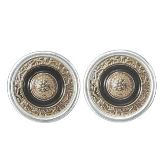 Vintage Button Pair of Cufflinks