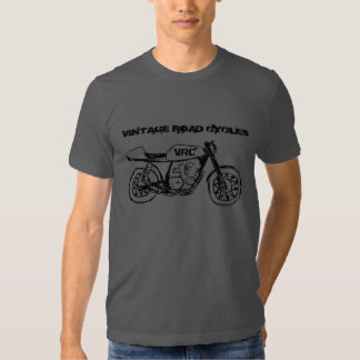 Vintage Cafe Style Motorcycle T-Shirt