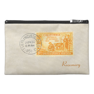 Vintage California 1850-1950 Centennial Accessory Travel Accessory Bag