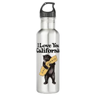 Vintage California Bear Hug 710 Ml Water Bottle
