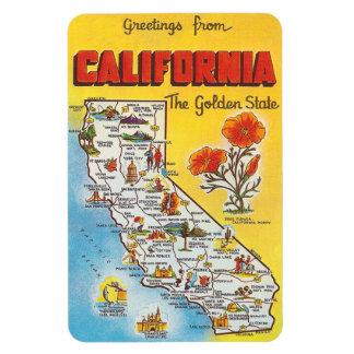 Vintage California Magnet