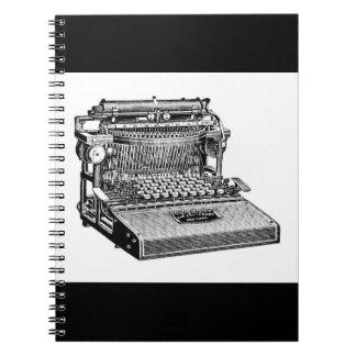 Vintage Caligraph Writing Machine (Typewriter) Notebooks