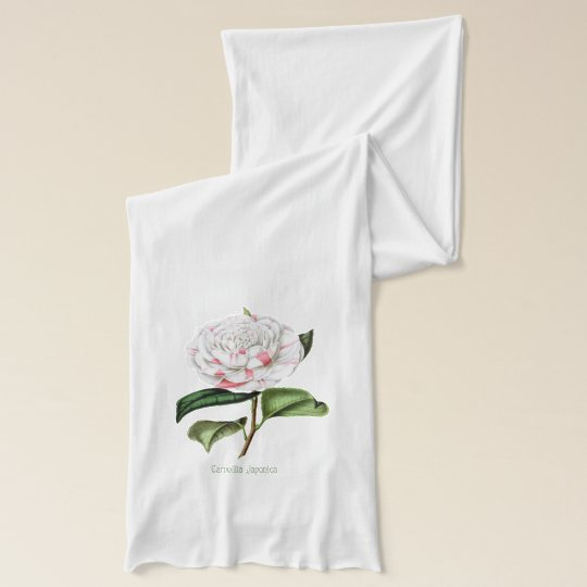 Vintage Camellia Scarf