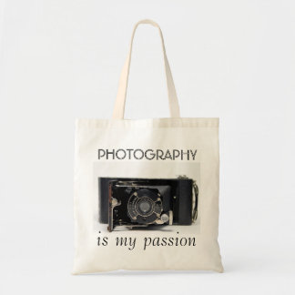 VINTAGE CAMERA (06) Photography is my Passion  Bag