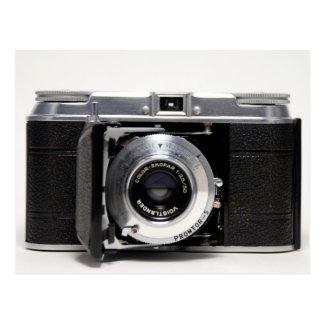 VINTAGE CAMERA 5 German Folding Camera Postcard