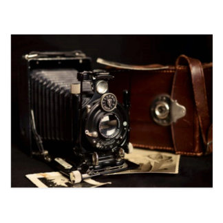 Vintage Camera and Photos Postcard