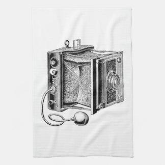 Vintage Camera - Antique Cameras Photography Kitchen Towel