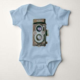 Vintage Camera Baby Bodysuit