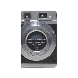VINTAGE CAMERA Collection 01b Pocket Journal 2