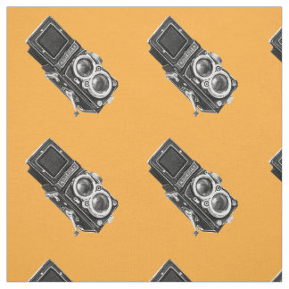 Vintage camera Fabri Fabric