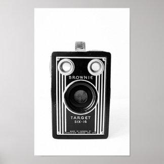 Vintage Camera Image Poster