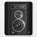 Vintage Camera Lens Mouse Mat Mouse Pads