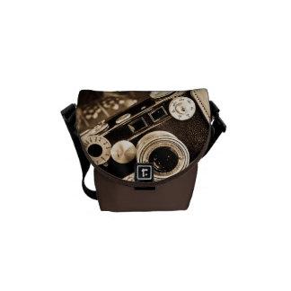 Vintage Camera Messenger Bag