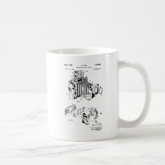 Vintage Camera Patent Coffee Mugs, Camera Mugs
