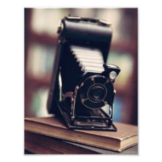 Vintage Camera Photo Print