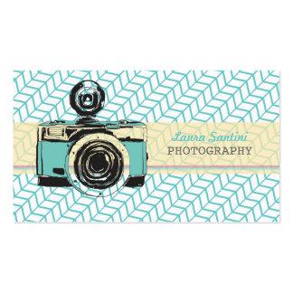 Vintage Camera Photographer Business Cards