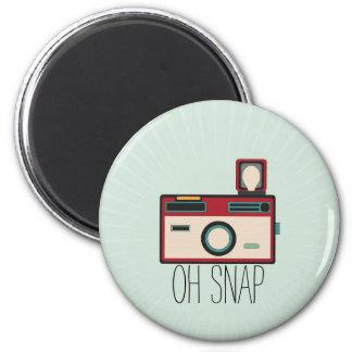 Vintage Camera Retro Look Oh Snap Magnet