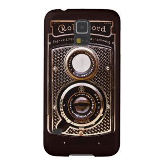 Vintage camera rolleicord art deco galaxy s5 cover