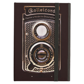 Vintage camera rolleicord art deco iPad air cover