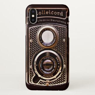 Vintage camera rolleicord art deco iPhone x case