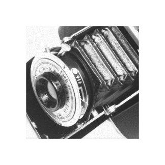 Vintage Camera Stretched Canvas Print